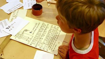 <titrephoto>photos</titrephoto> : activités pour les scolaires lors des 2èmes rencontres du luth