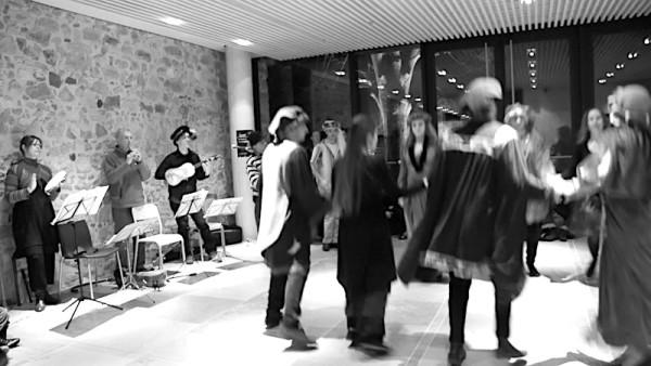 <titrephoto>photos</titrephoto> : musique lors de la nuit des musées au musée d'archéologie Plantagenêt du Mans