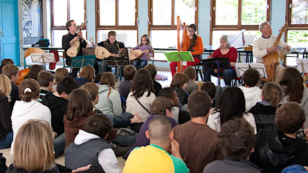 <titrephoto>photos</titrephoto> : Intervention en milieu scolaire au collège par <em>À Plaisir</em> (coord. pédagogique : Cyril Gilbert)
