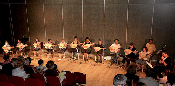 <titrephoto>photos</titrephoto> : Concert de fin d'année des classes de luth (prof. Cyril Gilbert)