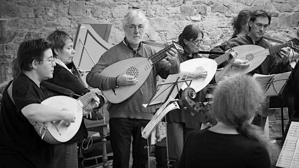 <titrephoto>photos</titrephoto> : académie de musique ancienne de la Cie Outre-Mesure à la Roche-sur-Yon (Vendée)