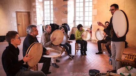 <titrephoto>photos</titrephoto> et <titrephoto>articles</titrephoto> : stage découverte et approfondissement  des percussions anciennes