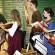 <titrephoto>photos</titrephoto> : concert dansé de fin de stage à l'Abbaye de Tuffé par <em>À Plaisir</em>