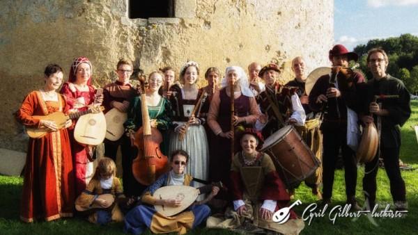 <titrephoto>photos</titrephoto> : <em>À Plaisir</em> (dir. Cyril Gilbert) au manoir de Bois Doublé pour les journées du patrimoine 2015