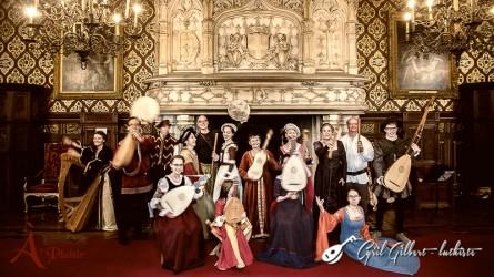 <titrephoto> photos </titrephoto>et<titrephoto> vidéos</titrephoto> : <em>À Plaisir</em> (dir. Cyril Gilbert) au château du Lude (Sarthe)