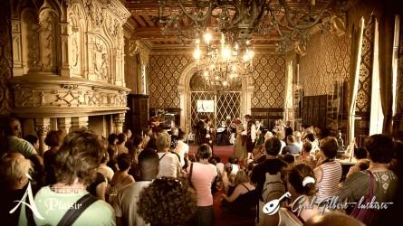 <titrephoto> photos </titrephoto>et<titrephoto> vidéos</titrephoto> : <em>À Plaisir</em> (dir. Cyril Gilbert) au château du Lude