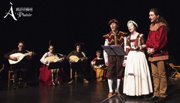 <titrephoto>photos</titrephoto> : concert d'À Plaisir (dir. Cyril Gilbert) à la scène universitaire EVE