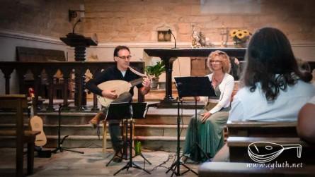 <titreaudio>audios</titreaudio> et <titreaudio>photos</titreaudio> : Concert de chansons françaises de la renaissance avec Sandra Balducci (voix), Cyril Gilbert (luth et guiterne)