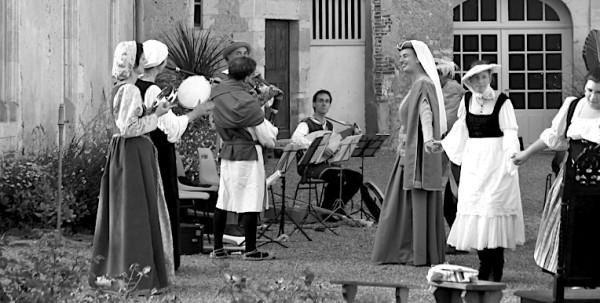 <titrephoto>photos</titrephoto> : animation musicale au château de Courtanvaux