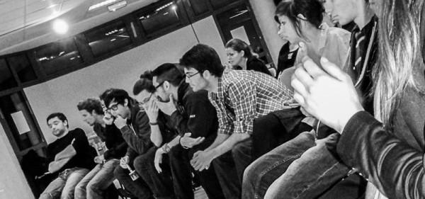 <titrephoto>photos</titrephoto> : démonstration de danse renaissance pour les étudiants en histoire de l'université