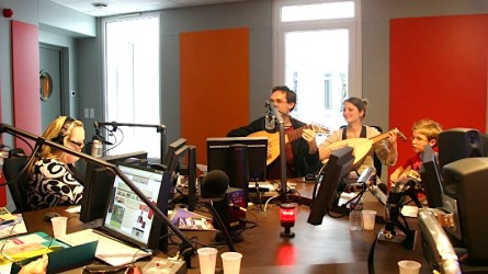 <titrephoto>Photos</titrephoto> : intervention à la radio France Bleu Maine