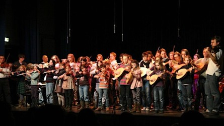 <titrephoto>photos</titrephoto> : concert de la classe de luth à l'EMM de Sargé (prof. Cyril Gilbert) sur le thème de la Mantovana