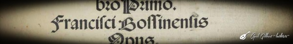 <titreaudio>audio</titreaudio> : <em>Ricercare</em> de Bossinensis par Cyril Gilbert