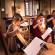<titrephoto>photos</titrephoto> : Stage de harpes anciennes au Manoir de la Cour d'Asnières-sur-Vègre organisé par <em> À Plaisir </em> et encadré par Carole Dessoubrais