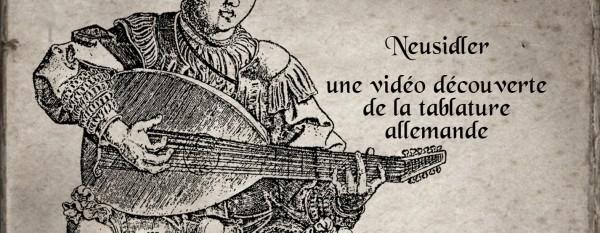 <titrevideo>création vidéo musicale</titrevideo> : <em>Ein Gut Preambel</em> – H. Neusidler (1536) <br>Cyril Gilbert (luth)