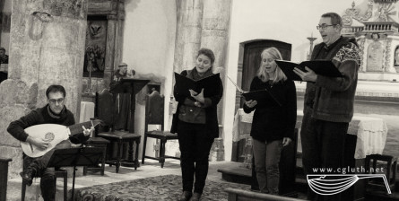 <titrephoto> photos </titrephoto> : participation au concert du <em>Restoration Consort</em> à l'église des <em>Cabannes</em>