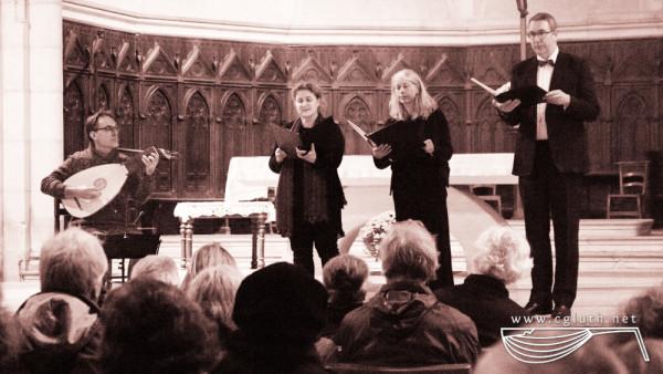 <titrephoto> photos </titrephoto> : musicien invité au concert de la fête de l'orgue par le <em>Restoration Consort</em> à Saint-Antonin-Noble-Val